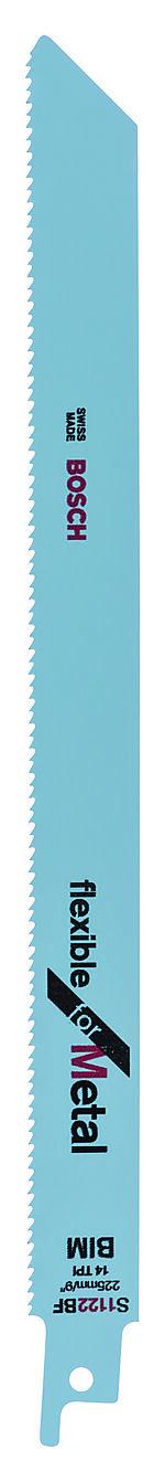 Bajonettsagblad flexible metall s1122bf bimetall 225x1,8 mm pakke a 5 stk