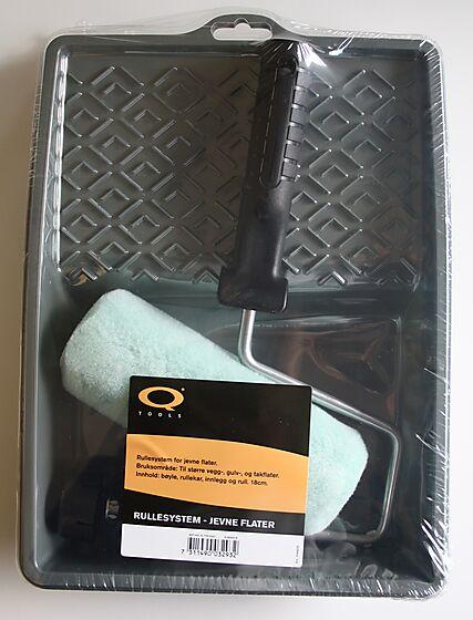 Q-tools rullesett jevne underlag 18 cm