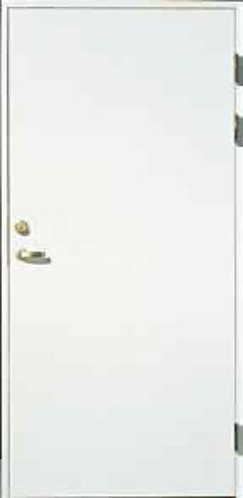 Innerdør Ei30 100x210 cm høyrehengslet hvitmalt