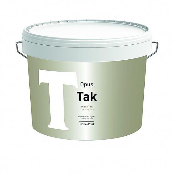 Takmaling 02 interiør base hvit 9 liter