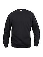 Basic genser rund hals 021030 Sort XS