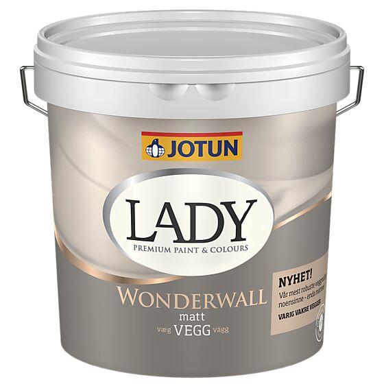 Wonderwall hvit 2,7 liter