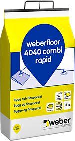 Fin/byggsparkel floor 4040 combi rapid dr 15 kg