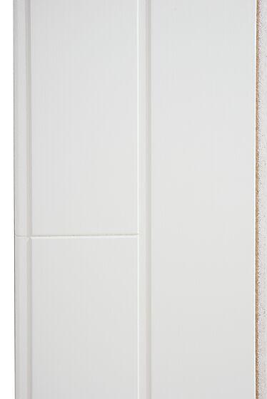 Panelbord trefiber klassisk hvit 11 x 142 x 2420 mm