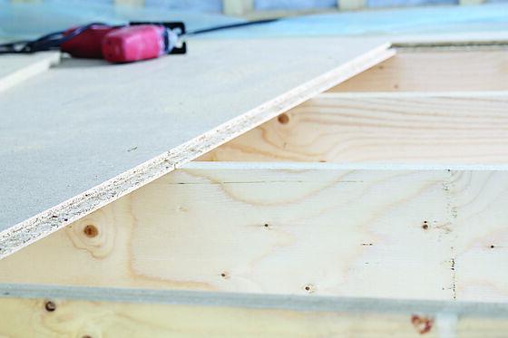 Sponplate gulv 22x620x1820 mm std n/f 4s