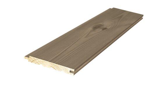 Sprekkpanel 13x120 mm beiset fjellbrun furu