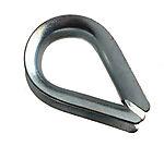 Spisskauser f/10 mm tau/wire 4 stk blå