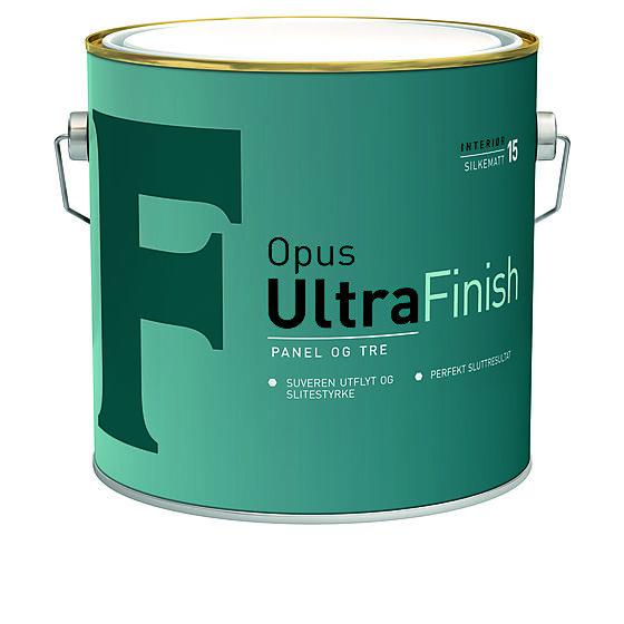 Ultrafinish 15 interiør base hvit 2,7 liter