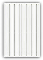 Levegg plus tett 120x180 cm hvit mellomstrøk