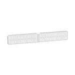 Oppbevaringslist door & wall 459x16x67 mm  hvit utility