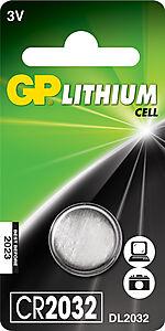 Batteri knappcelle cr 2032