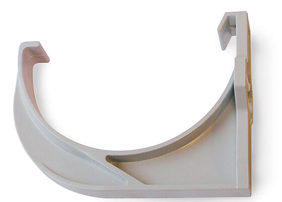 Rennekrok plastkonsoll 10 grå for forkantbord