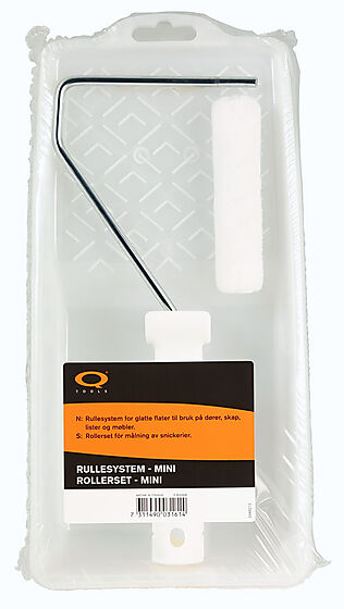 Q-tools rullesett glatte underlag 10 cm