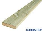 Terrassebord impregnert furu 28x145 mm