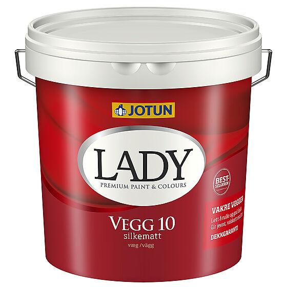 Lady Vegg 10 hvit 2,7 liter