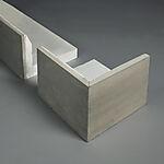 Element-L Rett H600 100x600x600x100 mm lengde 1200 mm Jackon