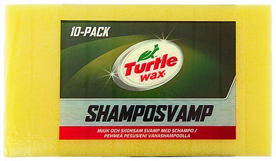 Svamp m/shampo pakke a 10 stk