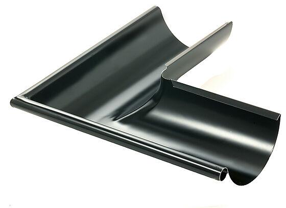 Vinkel 03 utvendig 90° stål sort
