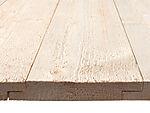 Dobbelfalset panel profilert kledning 19x148 mm grunnet gran