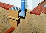 Punktavløp galvanisert Aco Self Plastmo spalterist 25x25x35 cm