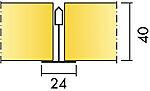 Master Alpha A L=600 (Ft) 40 X 600 X 600Mm, Ecophon Akutex Ft