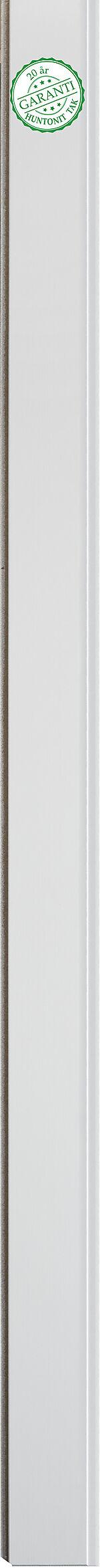 Trefiber panelbord 11x142x2420 mm hvitmalt