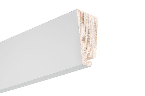 Taklist furu hvit skygge 21x045x4400 mm