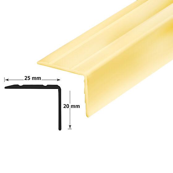 Trappenese nr. 9.1  1,5 mm messing eloksert