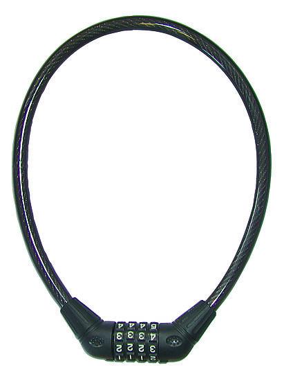 Sykkellås Wire 12x650 mm m/kode