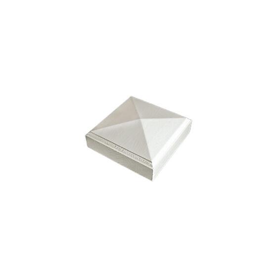 Toppkloss 16x75x75 mm hvitmalt