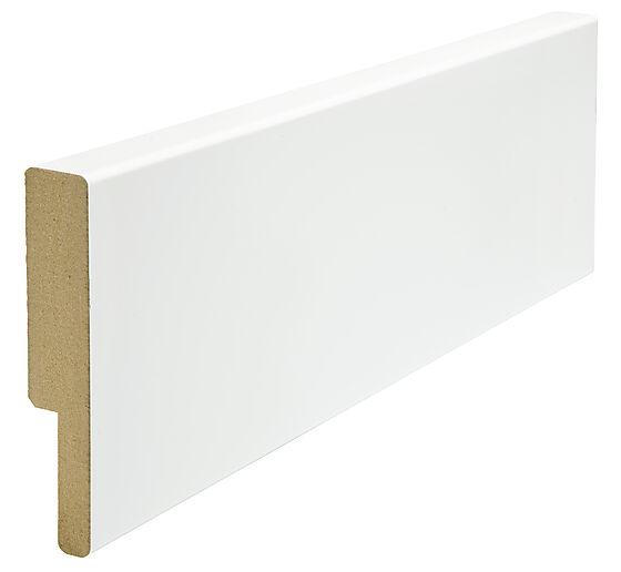 Utforing dørsett MDF 18x95x2100 mm hvitmalt