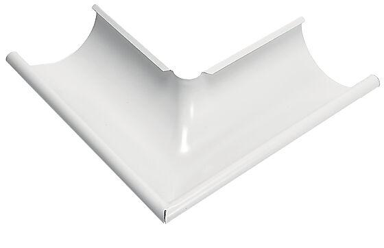 Vinkel takrenne 90° utvendig hvit