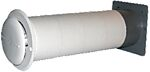 Skapventil komplett 16,5 - 32 cm