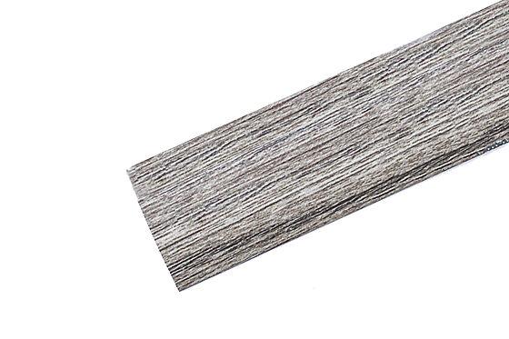 Trappenese nr. 9.1 eik grå aluminium selvklebende 1 meter