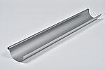 Ståltakrenne silver 125x4000 mm
