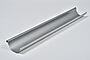 Takrenne stål 4 meter silver 125 mm