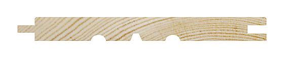 Glattpanel furu natur 14x120