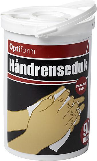 Optiform håndrenseklut a 90 stk