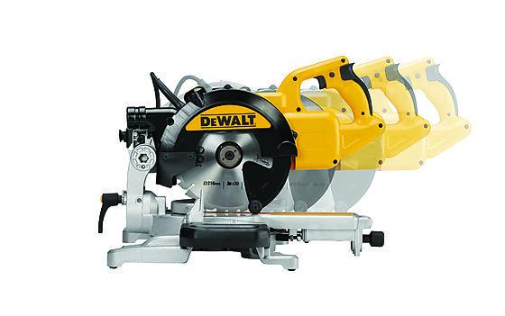Kapp- og gjærsag 1400W DWS774-QS, 250x62 mm