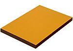Kryssfiner filmbelagt gul/lys brun 9x2400x1200 landbruk gul 170gram/lys brun 120 gram