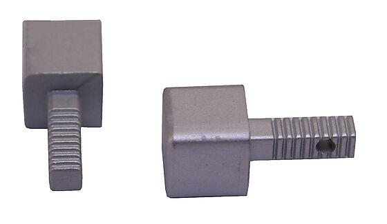 Hjørnestift 8mm anodisert al squarejolly pakke a 2 stk