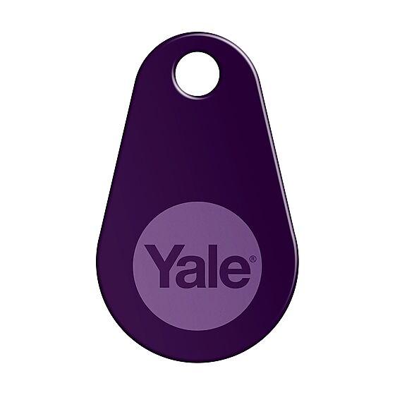 Nøkkelbrikke for Yale Doorman V2N lilla