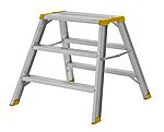Arbeidsbukk 3500 3-trinn Wibe Ladders