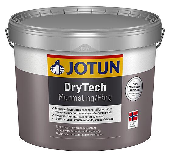 DryTech murmaling mørk grå 9 liter