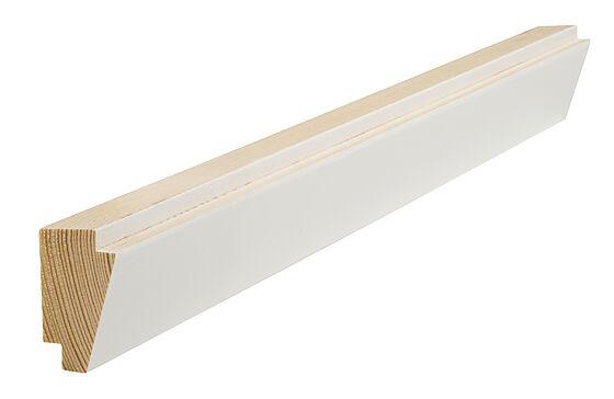 Taklist dobbel skygge klassisk hvit 21x34x4400 mm S0500N