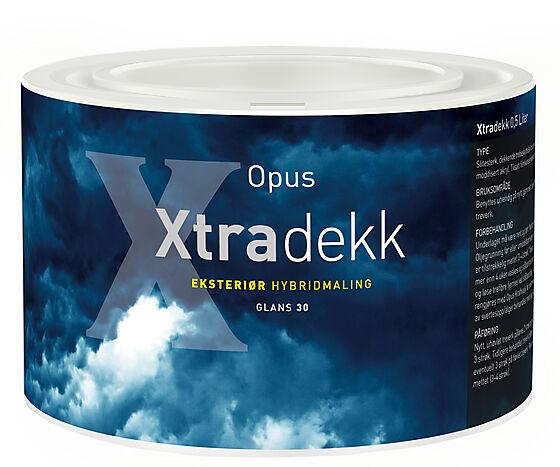 Xtradekk 30 eksteriør base hvit 0,45 liter