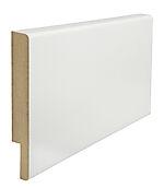 Utforing dørsett MDF 18x145x2100 mm hvitmalt