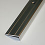 Trappenese nr. 8 1,5 meter sølv blank borret m/skruer