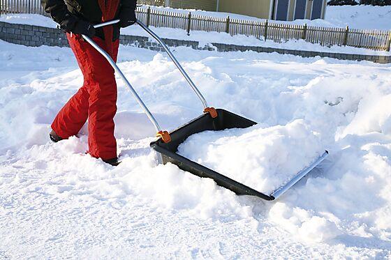 Mover snørydder plast