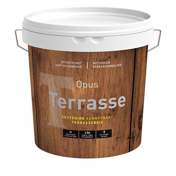 Terrassebeis perlehvit 2,7 liter